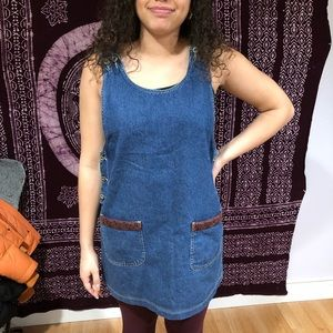 Vintage jean dress for sale! Perfect for summer